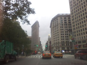flatiron in the rain