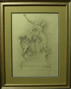 giambologna with frame
