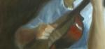 low rez matt progress shot day 2, detail lefthand