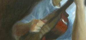 low rez matt progress shot day 2, detail left hand