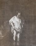 rembrandt copy of woman in stream, lowrez